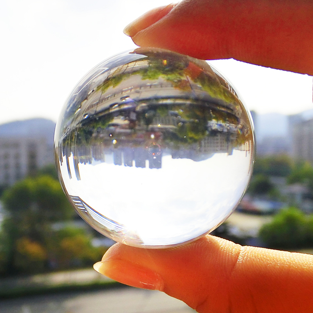 crystall ball 40mm glass crystal balls It's sold in packages of 7 pieces each  magic crystal ball 40mm