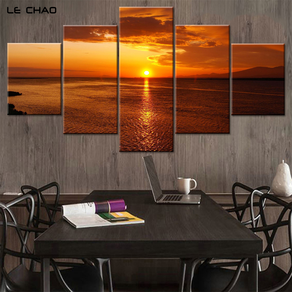compare prices on canvas painting water drop online shopping buy canvas paintings home decor canvas pictures for bedroom modular wall paintings sunset landscapes posters wall art drop shipping