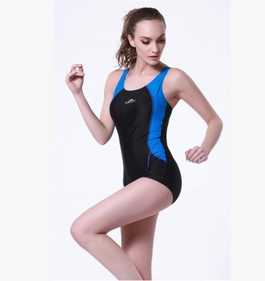 Women Professional Racing Swimwear One Piece Nylon Swimsuit For Girls Water Sport Competitive Bathing Beach Surfing Diving Suit