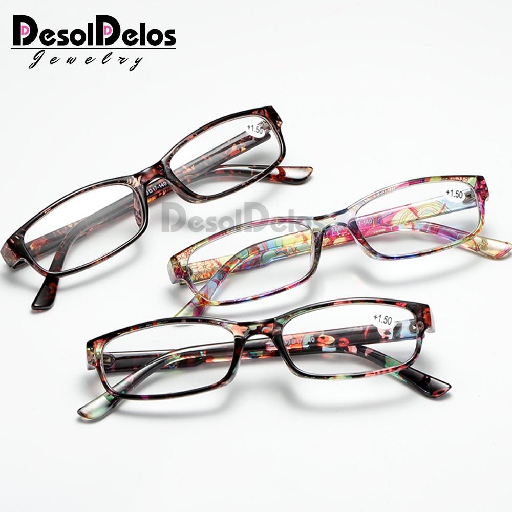 Reading Glasses Men Fashion Clear Lens Plastic Eyewears Light Women Color Eyeglasses Presbyopic Glasses Diopter Magnifier