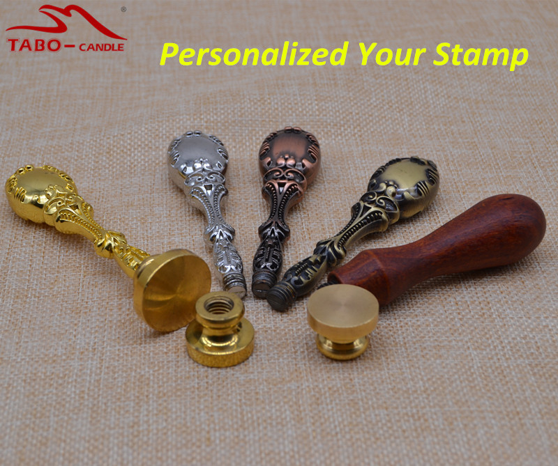 Old-fashioned Personalized Wax Seal Stamp for Individual Wedding Invitation Decoration Self DIY Sealing Stamp new 220v photosensitive portrait flash stamp machine kit self inking stamping making seal holder film pad no ink