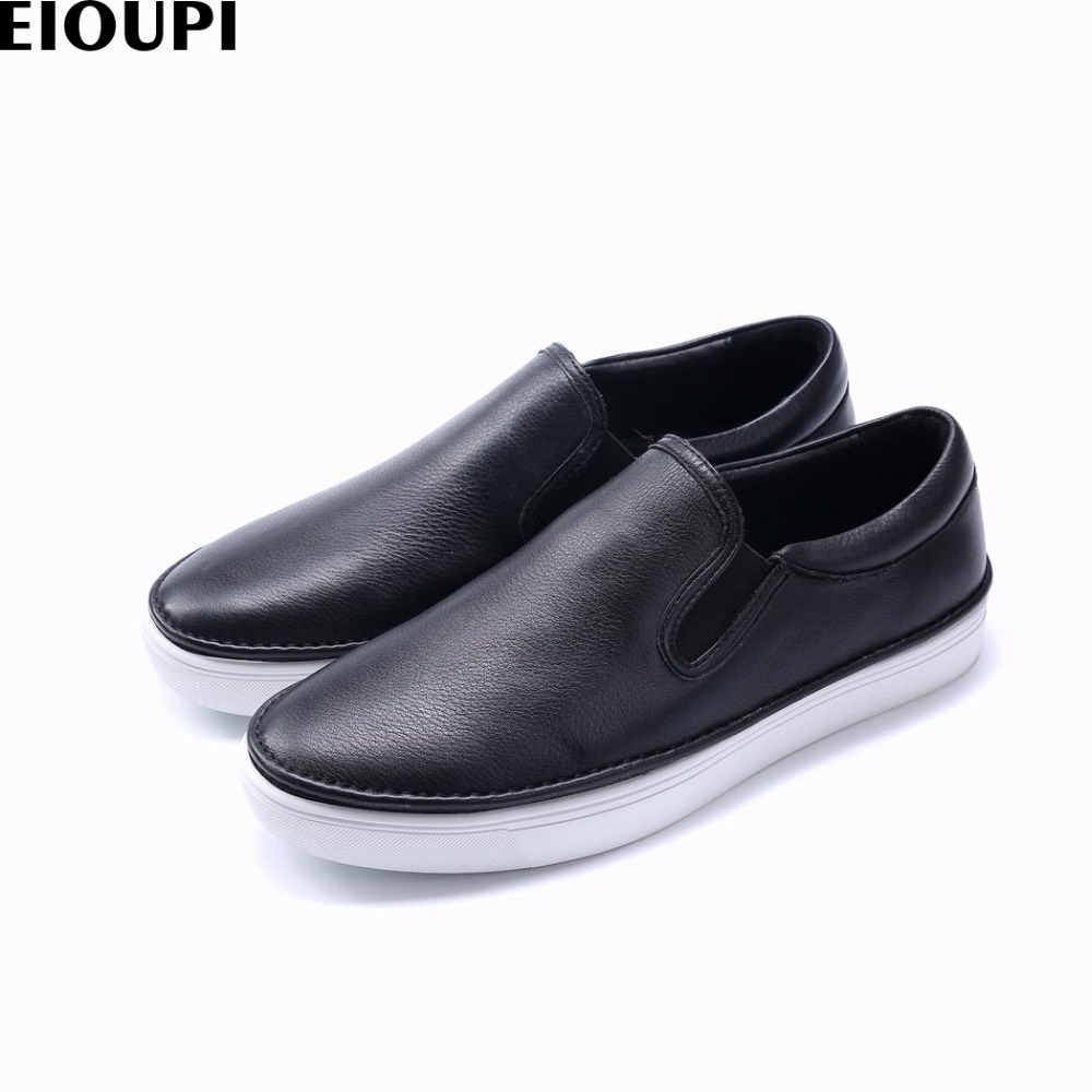 EIOUPI new design genuine real full grain leather mens fashion business casual shoe breathable men loafer shoes e37608 engine case alternator generator stator guard cover for kawasaki zx6r zx 6r zx636 zx 6r 636 2013 2014 2015 2016