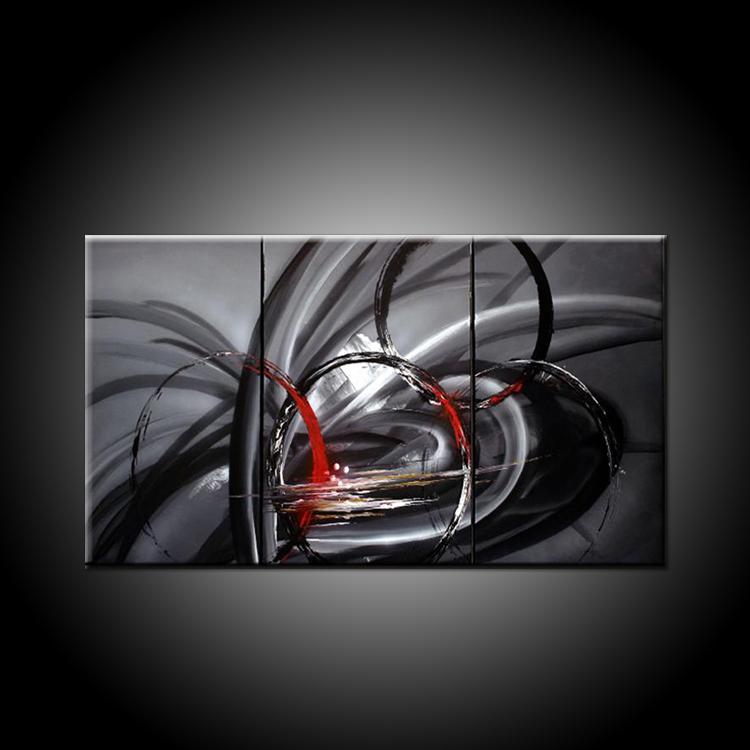 Noir Et Blanc Artistes Peintures-Achetez des lots à Petit Prix ...