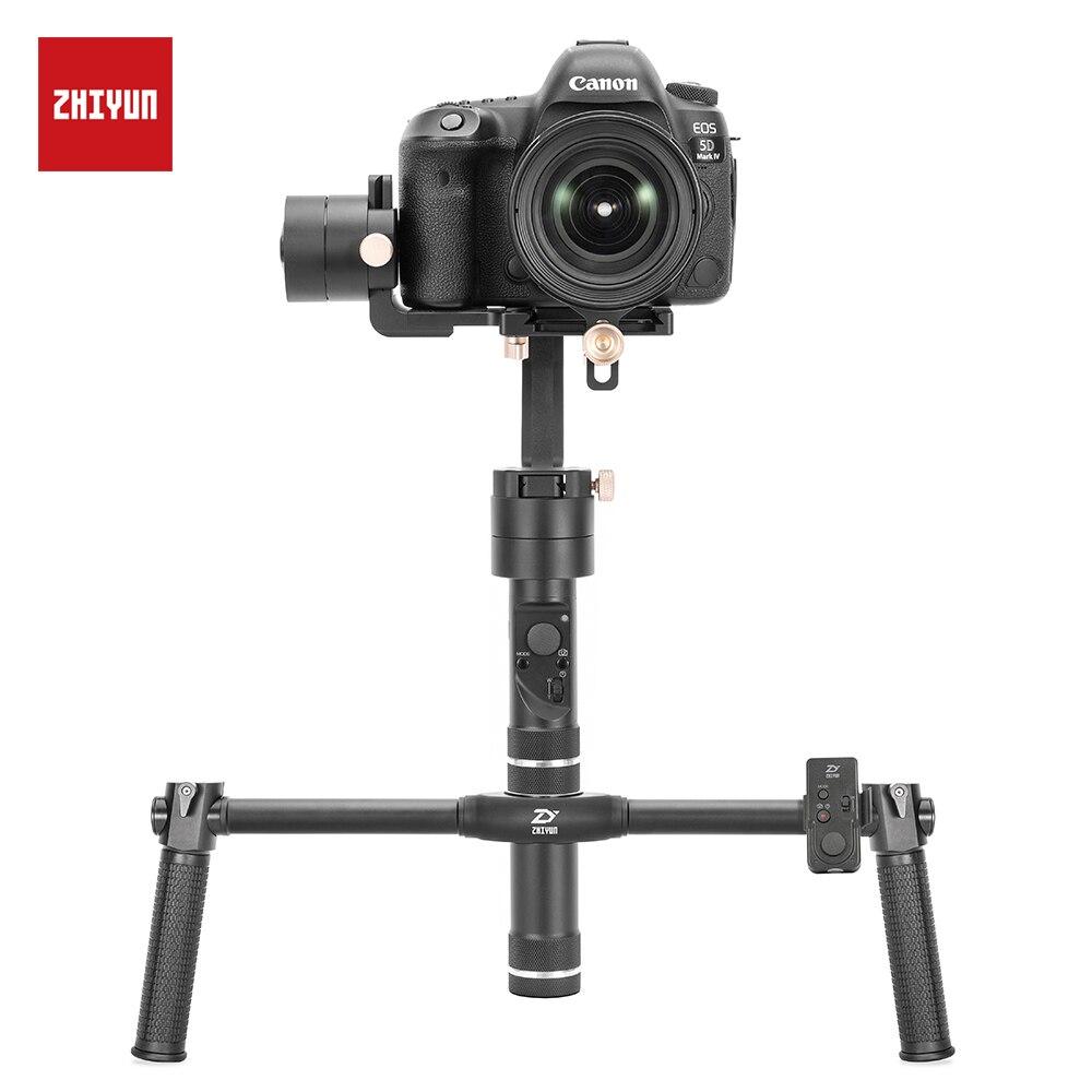 ZHIYUN Guindaste Plus Handheld Câmera Estabilizador, 3 eixo Cardan para DSLR Sony Canon Nikon D850 5D 6D A7 Z6 Z7 Panasonic GH5 Gimble