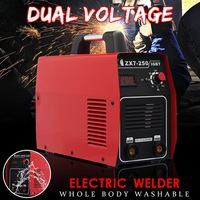 Forgelo AC220V 62V Digital Display inverter Full Copper Electric Welding Machine Set With Face Mask Gloves Package Arc Welders