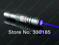 HOT! High Power military Blue Laser Pointer 20000m 450nm light Burning Match/Paper/Dry Wood/Candle/Black/Burn Cigarettes+Glasses