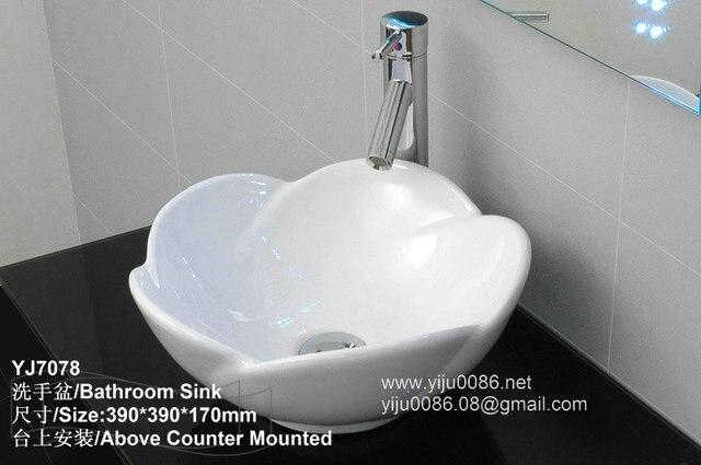 Modern design sanitair wassen wastafel badkamer ceramisch bassin