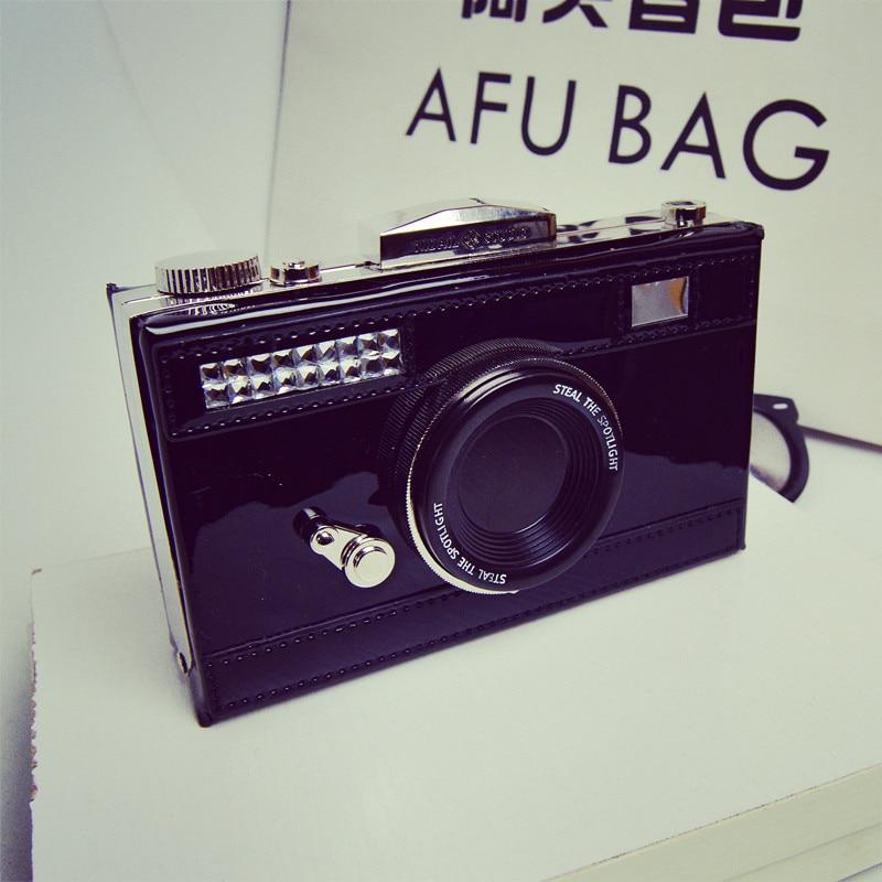 2017 European and American camera handbags personalized small satchel evening bag single shoulder small square bag