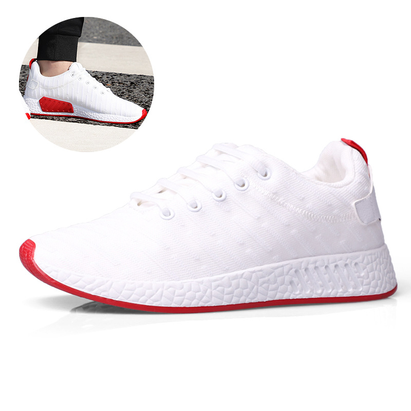 2018 European lace up fashion shoes man mesh Spring/Autumn casual men sneakers high quality hot sales adult casual shoes 2018 european cool men shoes breathable light casual adults casual shoes spring autumn solid high quality sneakers man