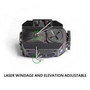 Image 5 - ドロップ無料グロックピカティニーグリーンレーザーサイト戦術ledライトガングリーンレーザーライトコンボレーザーライトコンボ