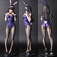 Anime Sexy lovely Bunny Girl KASUMIGAOKA Sex Figures Naked Bikini 1/4 GK Resin figure Collection Model toys Adult gift