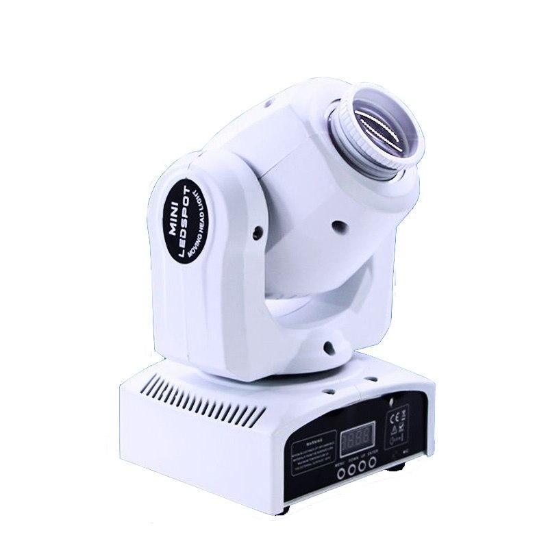 Led 4 в 1 30 Вт мини точечный движущаяся головка светильник китайские движущиеся головки 30 Вт DMX dj 8 Гобо эффект сценический светильник s для диск