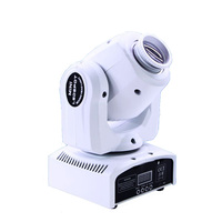 Led 4 in 1 30W mini spot moving head light china Moving Heads 30w DMX dj 8 gobos effect stage lights for bar disco white color