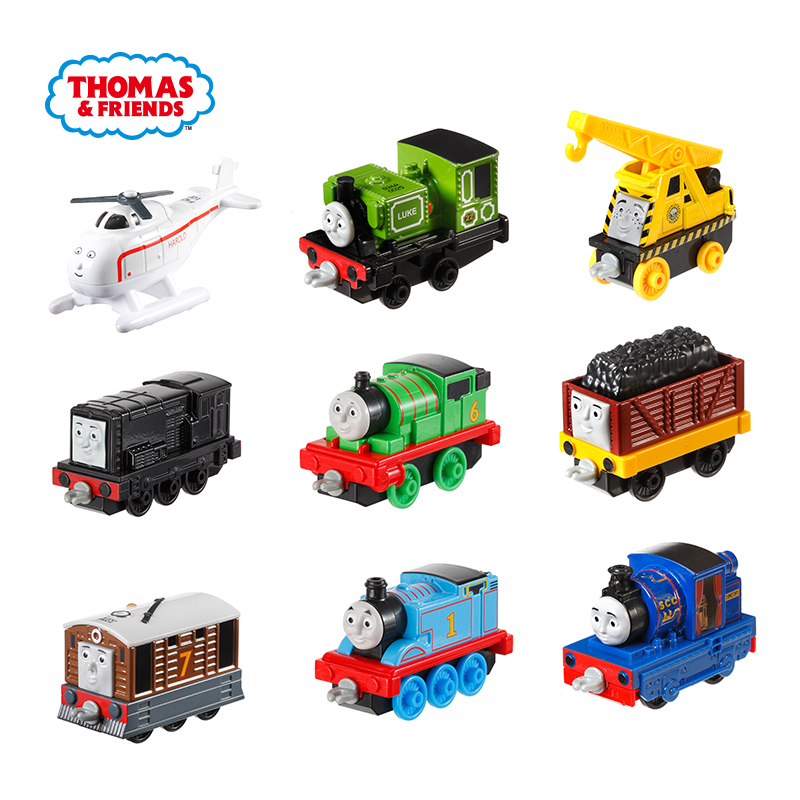 Thomas And Friends Gator James Engine Gordon Henry Belle  Mini Trains   Railway Accessories Classic Metal Diecast Car Kids Toys