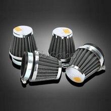 Custom 4PCS 35mm 39mm 48mm 50mm 52mm 54mm 60mm Air Filters Pod Cleaner For Honda Kawasaki Suzuki Yamaha