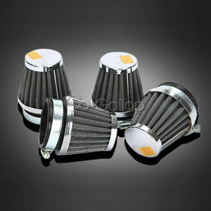Image 1 - Custom 4PCS 35mm 39mm 48mm 50mm 52mm 54mm 60mm Air Filters Pod Cleaner For Honda Kawasaki Suzuki Yamaha