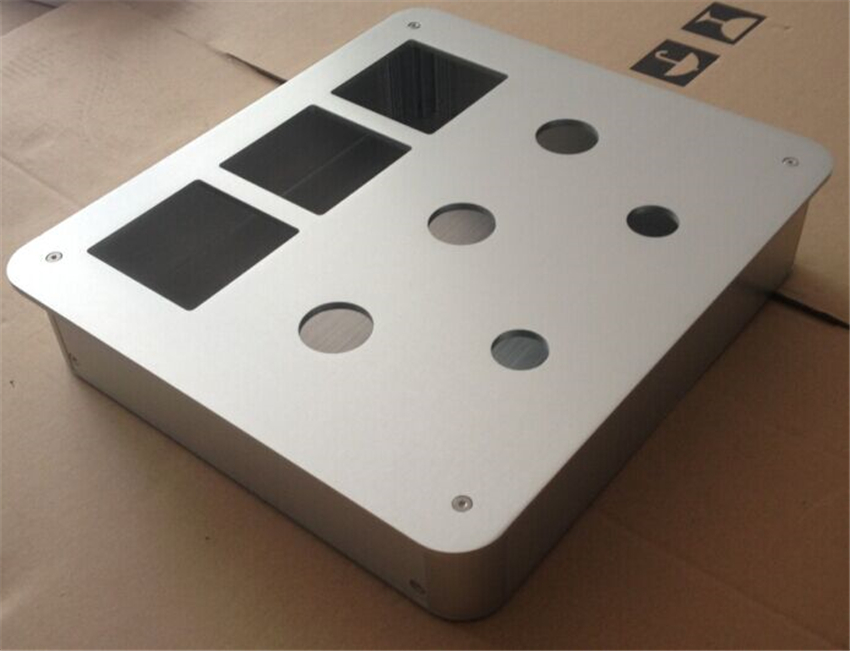 C-023 CNC All Aluminum Chassis Case Box Cabinet for DIY Audio Power Amplifier 330mm*68mm*300mm 330*68*300mm цены