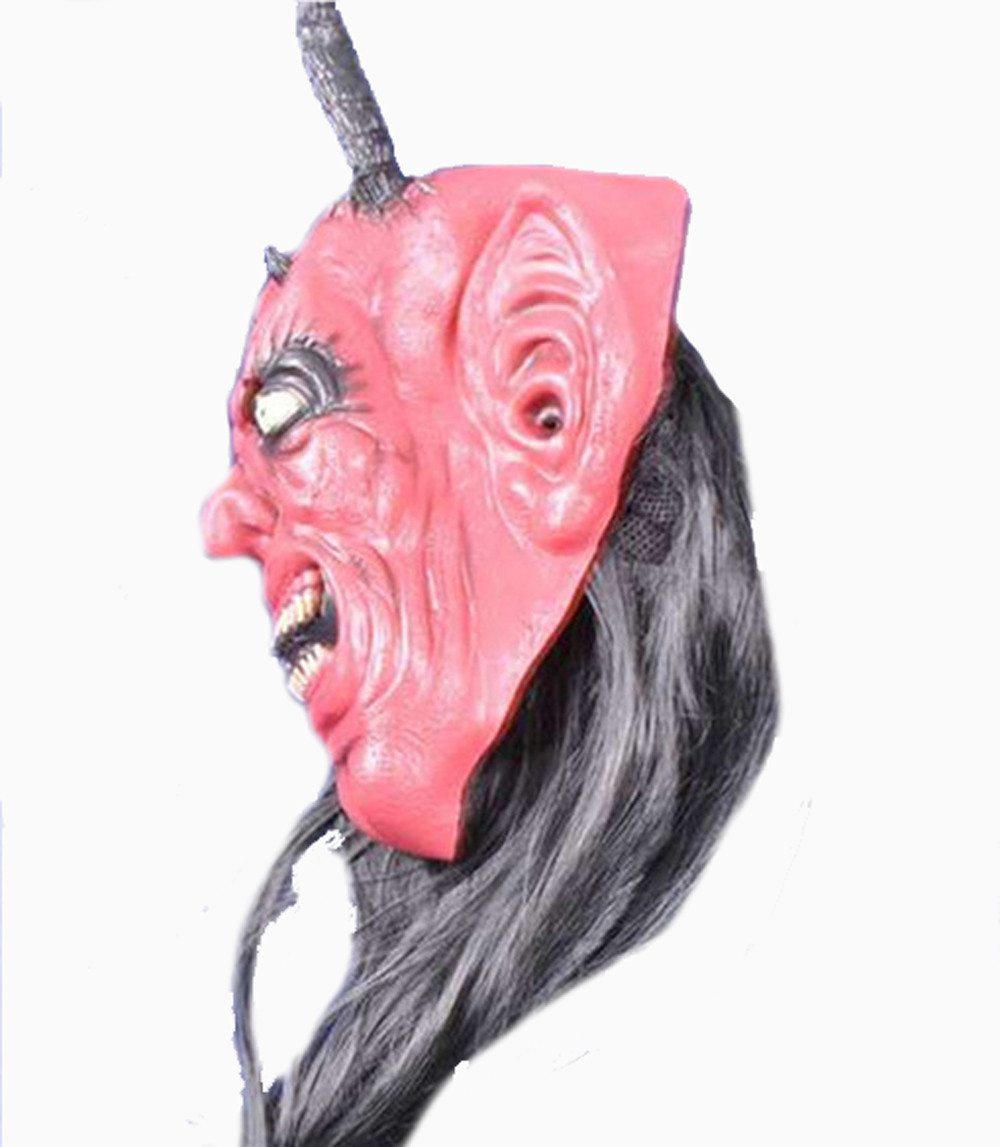 Aliexpress.com : Buy New Bloody Face Off Horror Halloween Costume ...