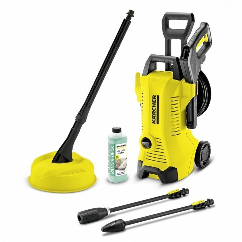 KARCHER 1.602-654.0-Washer Cold Water High Pressure Washer Karcher K 3 Premium FC Home T 150 380 L/H 120 Bars 1.6 KW