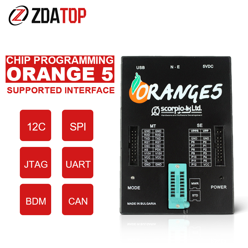 Hardware Orange5-Programmer Full-Adapter Forfiat Forchrysler Softwarev1.34 Fordaf OEM title=