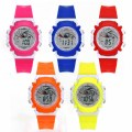 LED Children Digital Waterproof Watch Student Boy Girl Sport Stopwatch Light Alarm Function Wristwatch