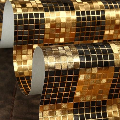 Black White And Silver Striped Wallpaper Popular Metallic Wallpaper Modern Buy Cheap Metallic