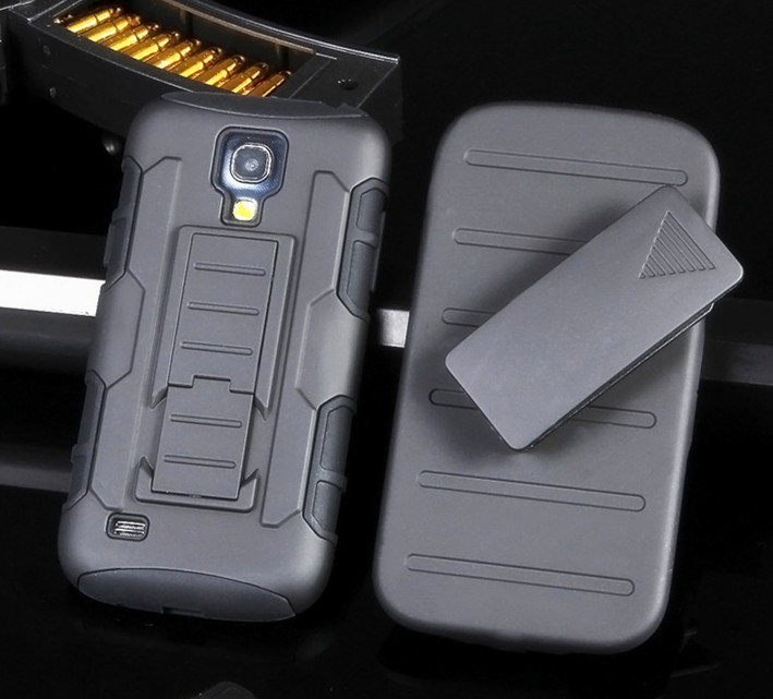 Military Tough 3 in 1 Hybrid Armor case For Samsung galaxy Note 2 4 S3 S4 S5 mini S6 Edge Grand prime G530 Ace 4 NXT G313H