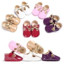 Spring Summer Baby Girls Kids Shoes Newborn Princess Ballet Dress Mary Jane Shoes Prewalkers Infant Toddlers
