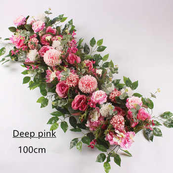 Angela flower Artificial & Dried Flowers Deep pink