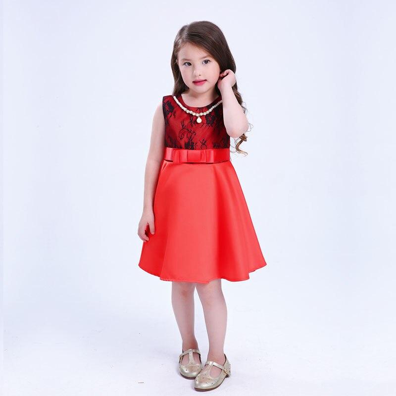 LCJMMO Çap Qız Don Qatı rəngli tərəf Şahzadə paltar Toy Qız - Uşaq geyimləri - Fotoqrafiya 5