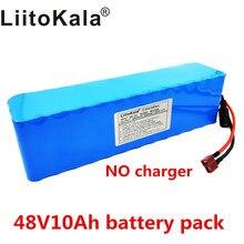 LiitoKala Batería de alta potencia para vehículo eléctrico, 48V, 10ah, 13s3p, 18650, protección BMS