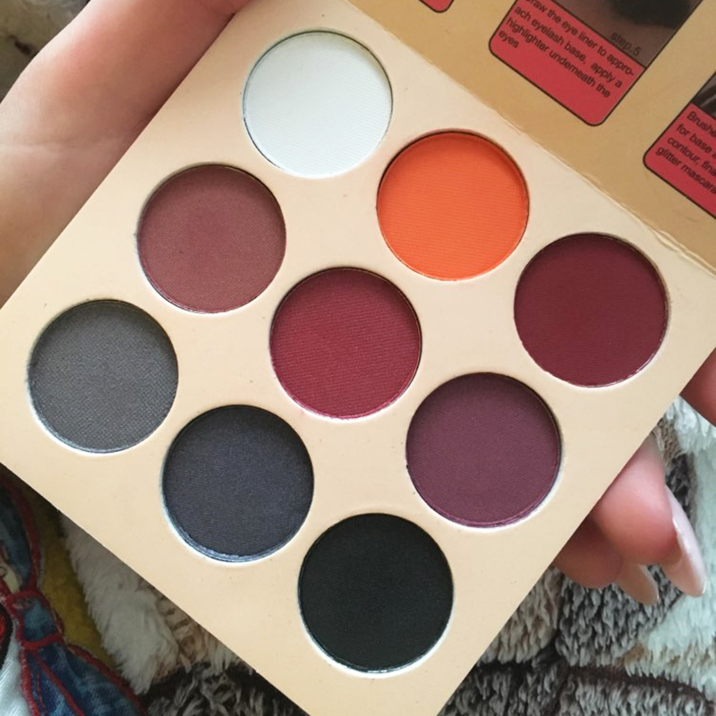 Beauty Essentials Beauty & Health Matte Eye Shadow Palette Makeup Shimmer Pigment Waterproof Mineral Balm Shade Nude Cosmetic Professional Eyeshadow Pallete