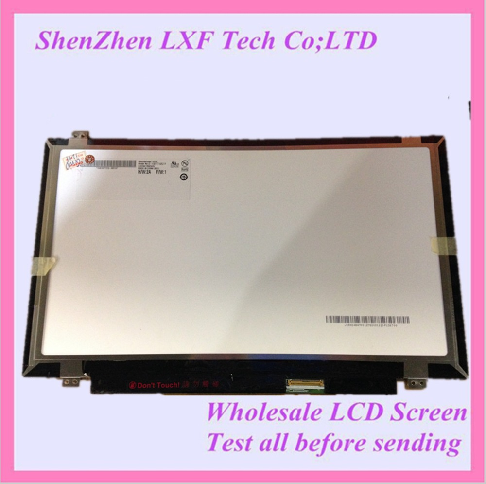 14.0 WXGA HD Slim LED LCD Screen Display B140XTN02.0 for hp 250 g3 series lcd led screen for 15 6 wxga hd slim display new