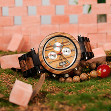 Multi Function Wood Watches