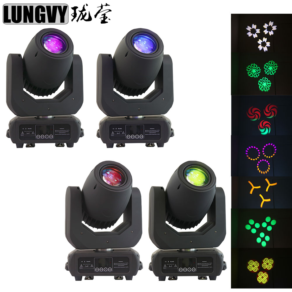 Free Shipping 4pcs/lot 150W Gobo LED Moving Head Spot DMX DJ Disco Party Stage Effect Colorful LCD displayFree Shipping 4pcs/lot 150W Gobo LED Moving Head Spot DMX DJ Disco Party Stage Effect Colorful LCD display