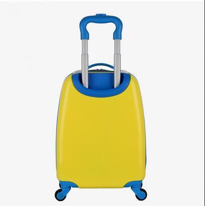 2018 мультфильм детские сумки тележки чемодан для детей Дети Дорожный чемодан прокатки Чемодан Дорожная сумка на колесах