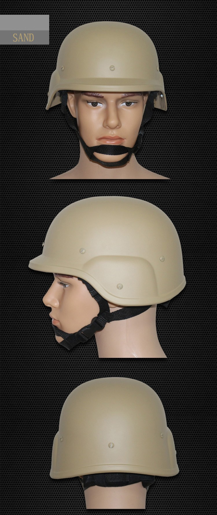 Safety Helmet Military Tactical Helmets Movies Prop Cosplay US Army Style War Game Tactical Accessories for Airsoft Paintball (5)