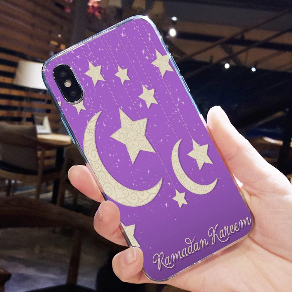 CASEIER Ramadan Phone Case For iPhone XR XS MAX X 7 8 6 6s Plus MaiYaCa Muslim Islamic Ramadan Allah Goodies Case Funda Bags in Half wrapped Cases from Cellphones Telecommunications