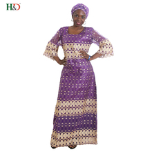 H&D Africa traditional lace Embroidery african