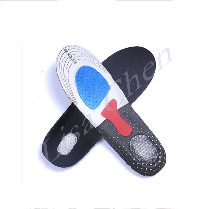 Sport insoles absorb sweat deodorant breathable air cushioning basketball running military training deodorant soft thick skinned