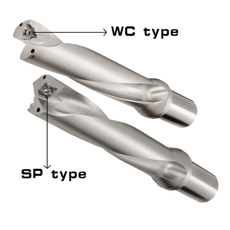 WC-C32-2D-SD31 32 33 34 35-WC06 Drill Type For Wcmt06T308 Insert U Drilling Shallow Hole indexable insert drills