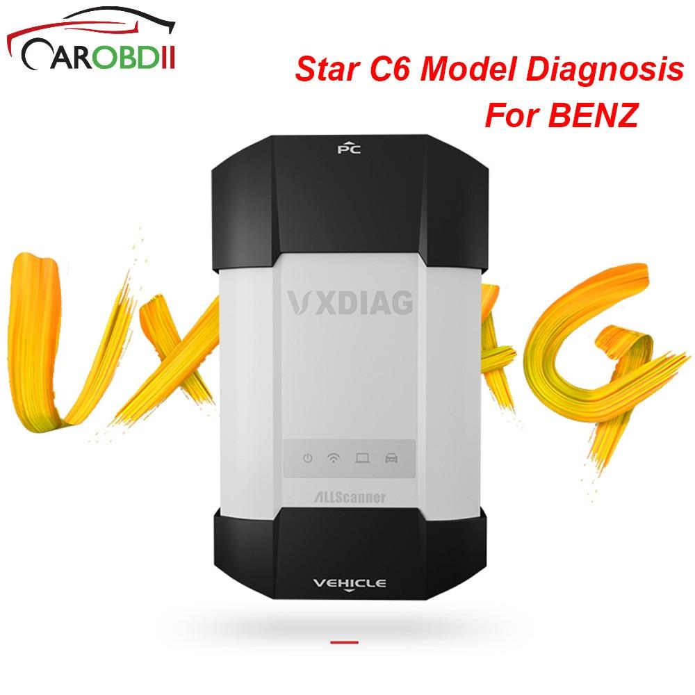 Для Benz VCX VXDIAG Multidiag диагностический ToolPowerful чем МБ Star C4 C5 C6 с HDD для Benz сканер для XENTRY диагностика дсцп