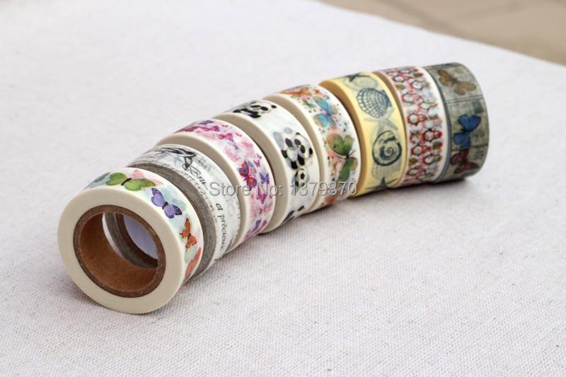 free shipping 30pcs Custom Printed Brand LOGO Make Washi Tapes Paper Sticky Adhesive Stickers Masking Tapes Kawaii Stationery