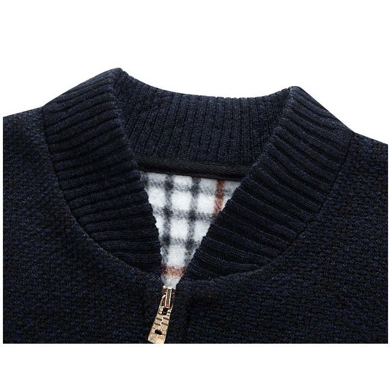 Miacawor осенне-зимний свитер мужской Повседневный Кардиган Blusa de frio Masculino мужской трикотажный свитер куртка мужской свитер Y082