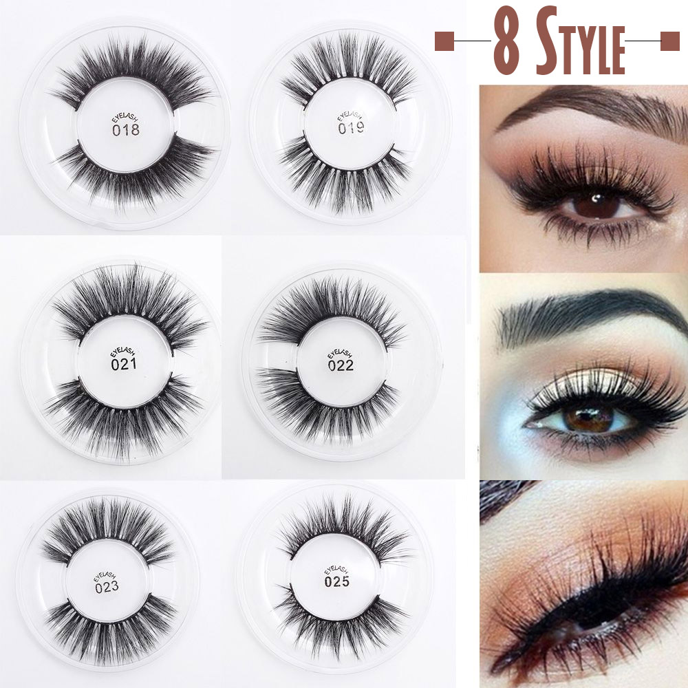 8b0757515c8 1Pair Handmade False Eyelashes 3D Multi-layer Cross Natural Long Fake Eye  Lashes Sexy Stage Makeup Tips Thick Extension Tools