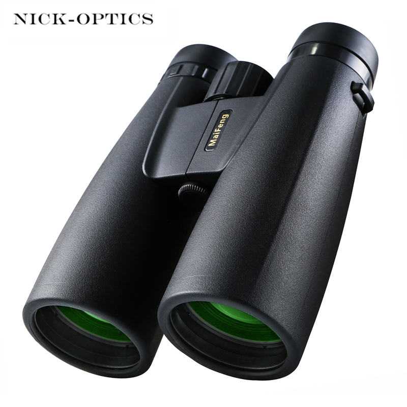 Professional 12x50 HD Binoculars Powerful Telescope Tactical Scope Low Light Night Vision Binocular For Bird Watching Hunting
