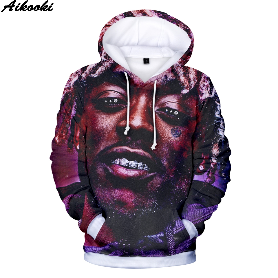 Men's Clothing Hip Hop Lil Uzi Vert Hoodies 3d Sweatshirts Men/women 3d Hoodies Rapper Lil Uzl Vert Hoodies Men Plus Size Xxs-4xl