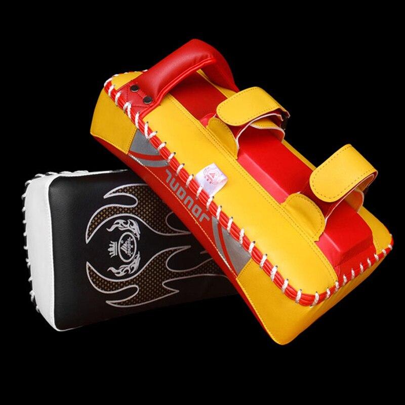 Тхэквондо Training изогнутые руки Удар Pad Муай Тай ног Целевая ММА армейские карате M Книги по искусству ial Книги по искусству фокус Бокс колодки ...
