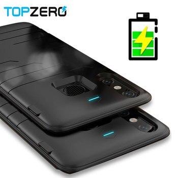 Xiao mi 8 8se 휴대용 여행 충전 전원 은행 전화 케이스 커버에 대 한 6800 mah 배터리 충전기 케이스 xiao mi mi 8 8 se capa