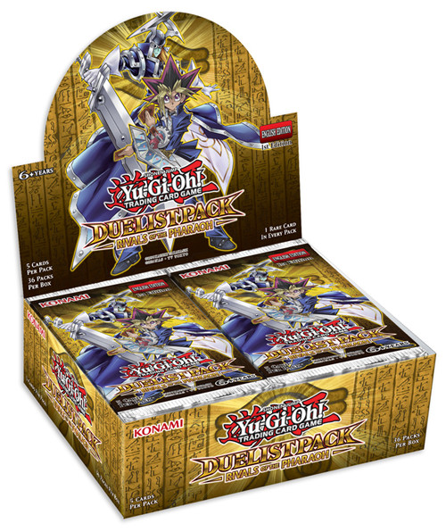 YuGiOh Duelist Pack Rivals Of The Pharaoh Booster Box - 1st Edition Sealed